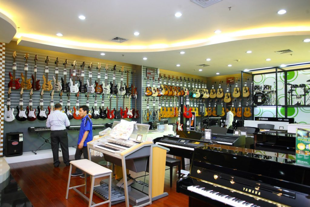 view of Yamaha Sincere Music