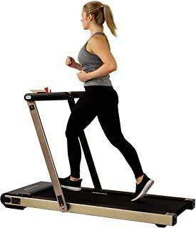 Asuna Space Saving Treadmill, Flat Folding with Speakers for AUX Audio Connection - 8730/G