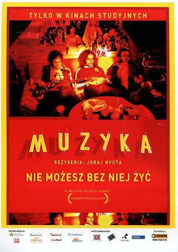 Przód ulotki filmu 'Muzyka'