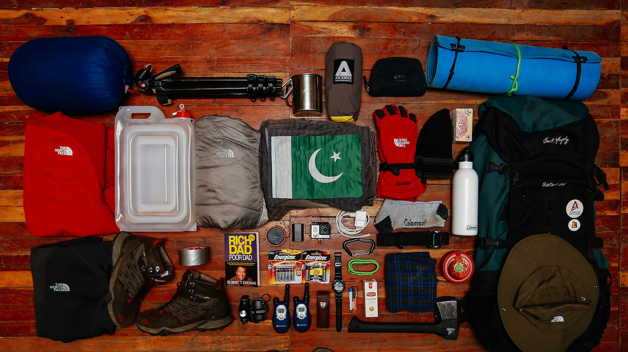 equipment for canyoneering