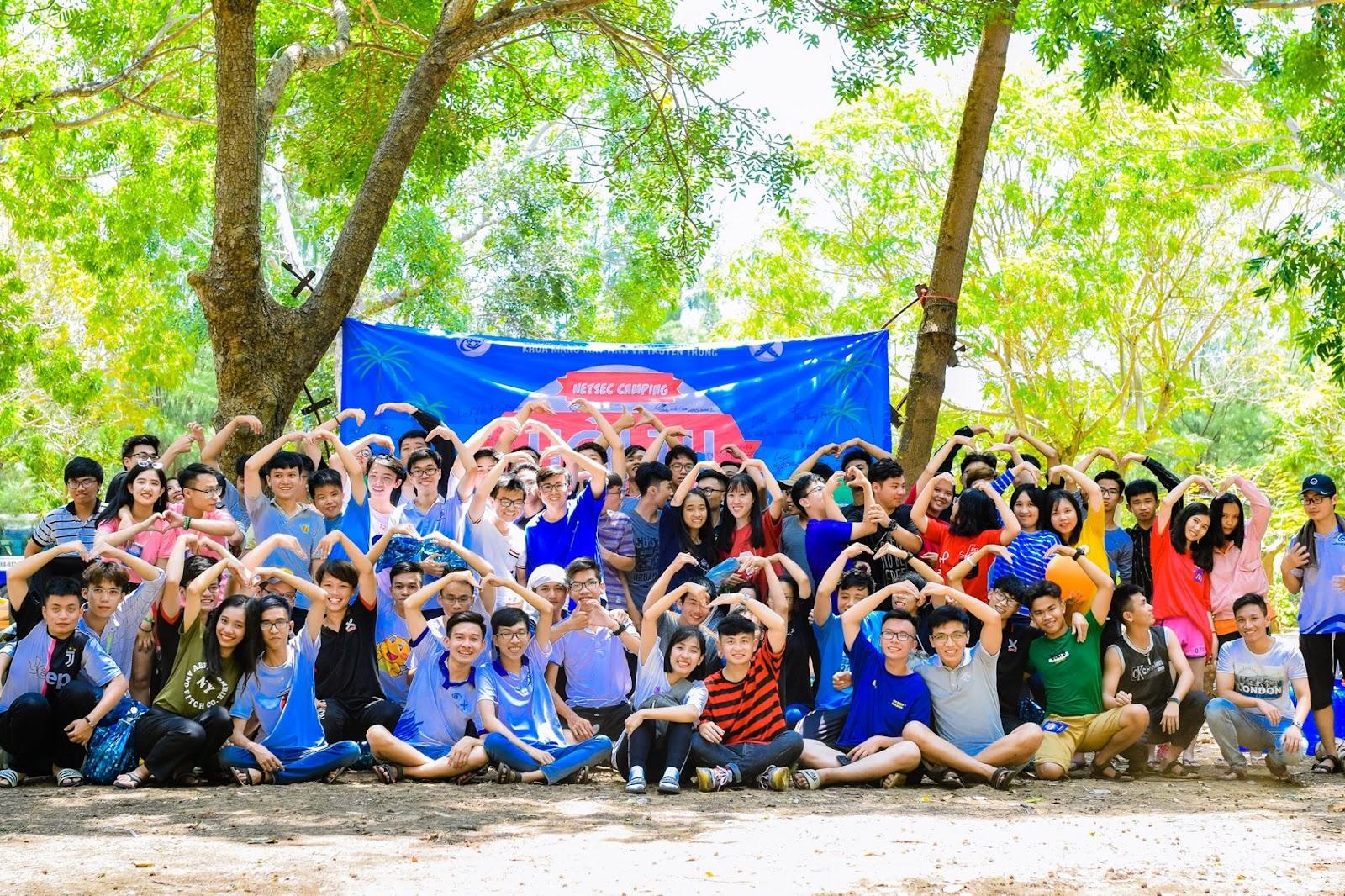 Cắm trại ở Vũng Tàu