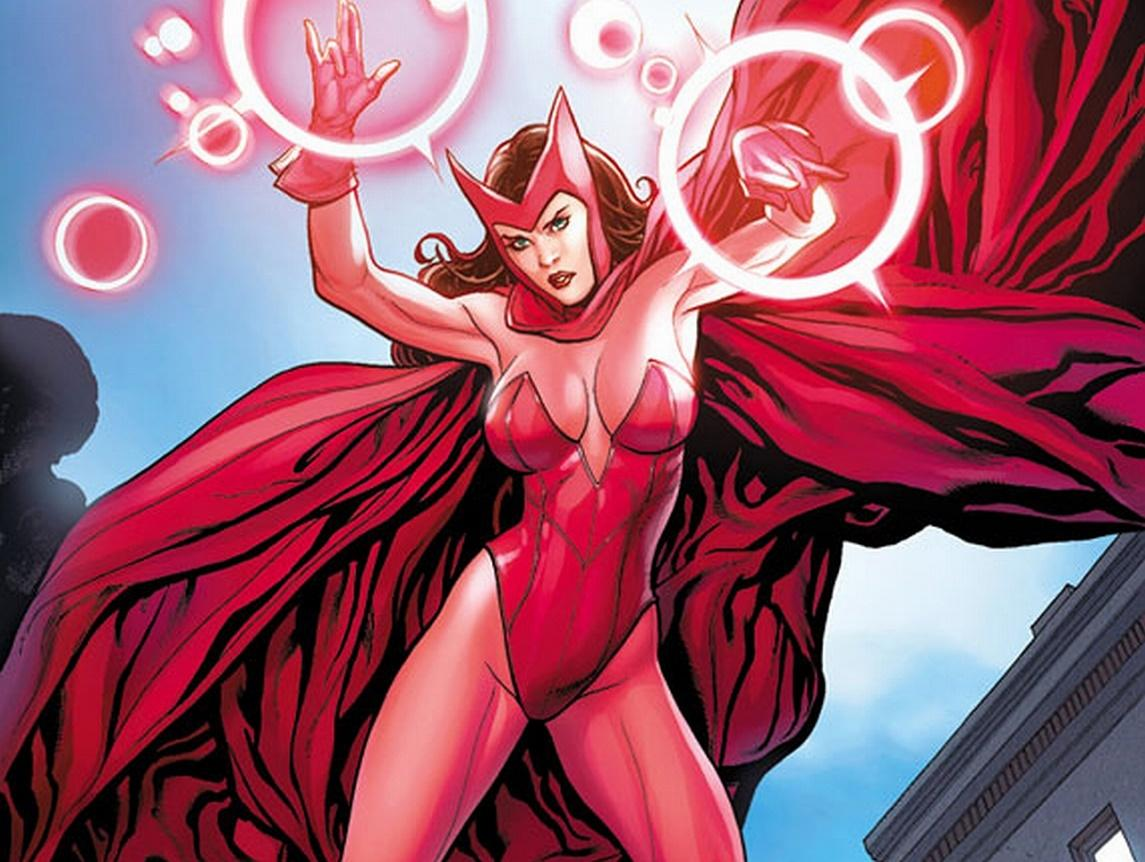 Marvel's WandaVision Finally Unveils Comics Accurate Scarlet Witch Costume  | Den of Geek