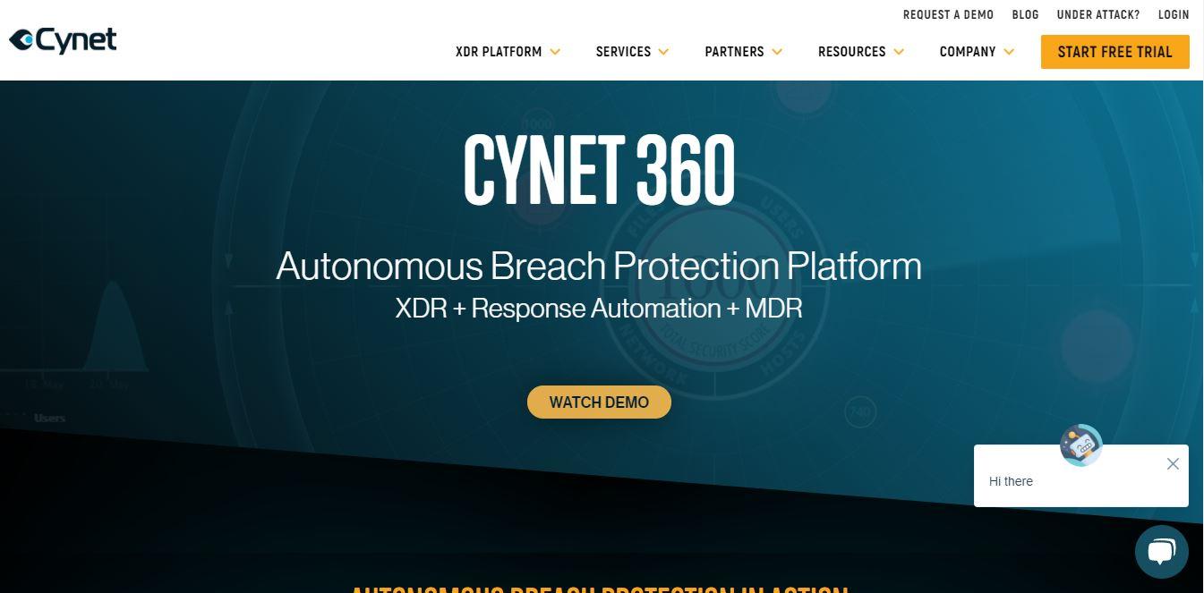 Cynet 360 - Incident Response Tools