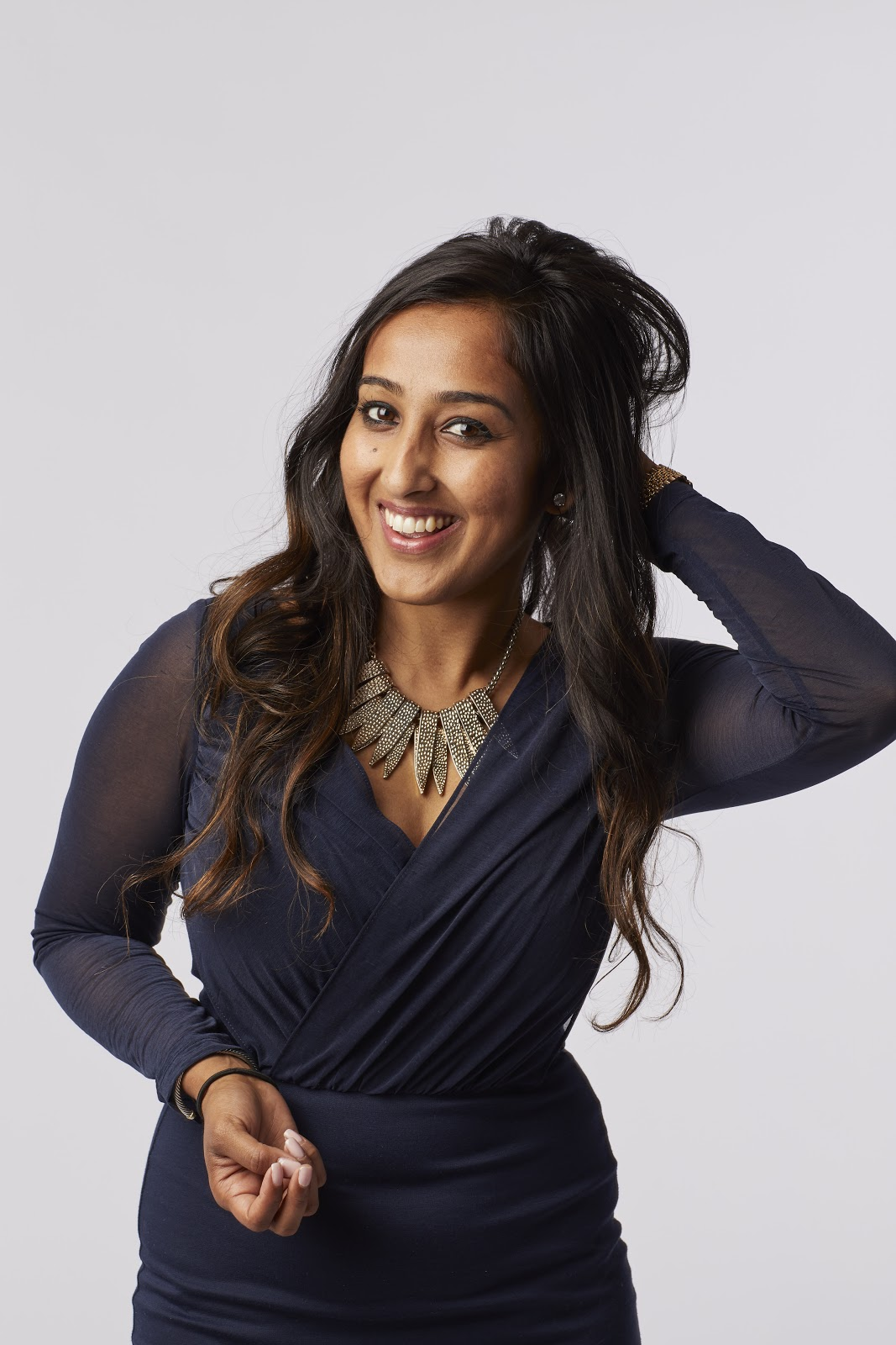 Meha Agrawal, CEO and Founder of Silk + Sonder headshot