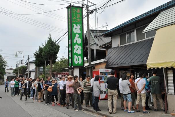 การเข้าคิวของคนญี่ปุ่น