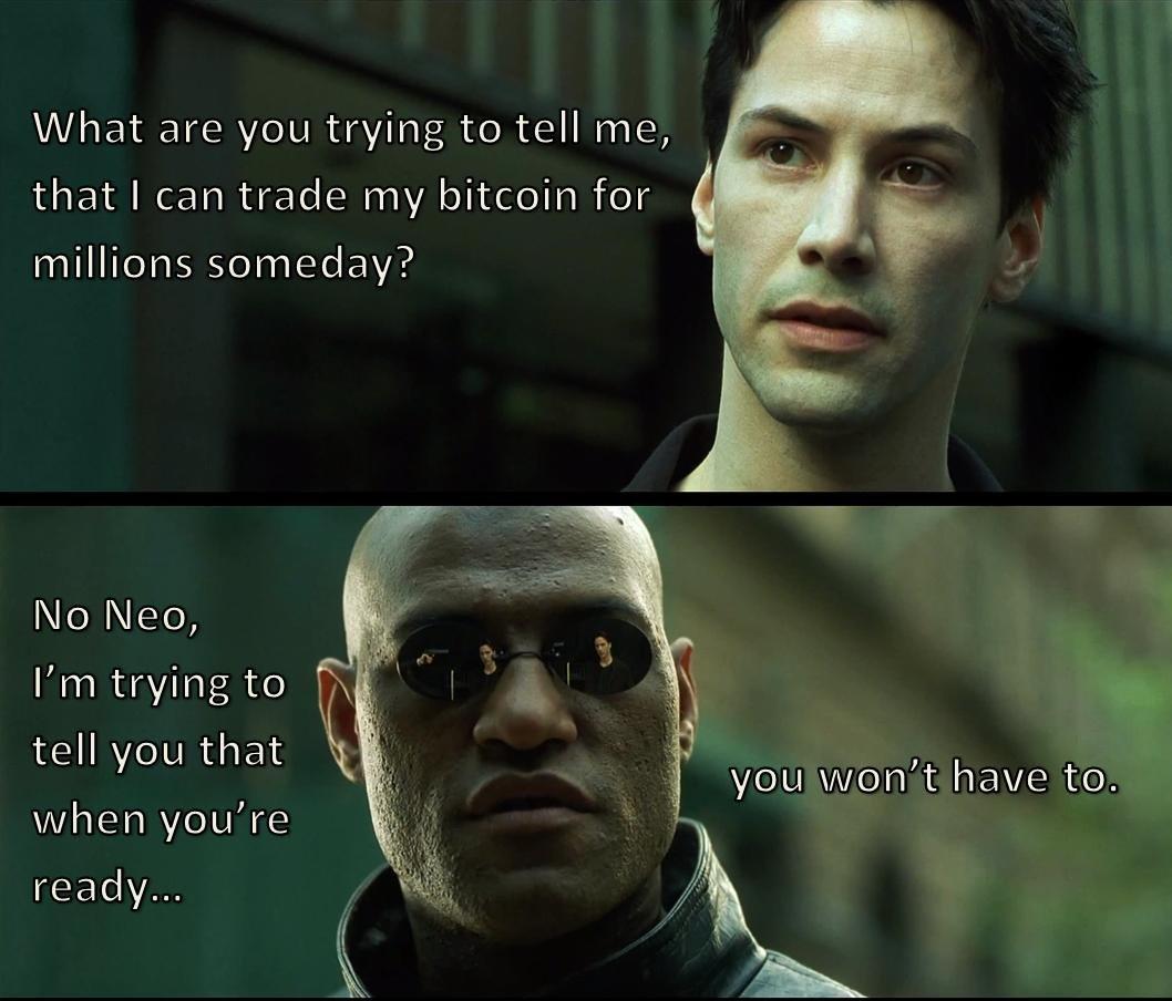 Bitcoin and crypto meme #6.