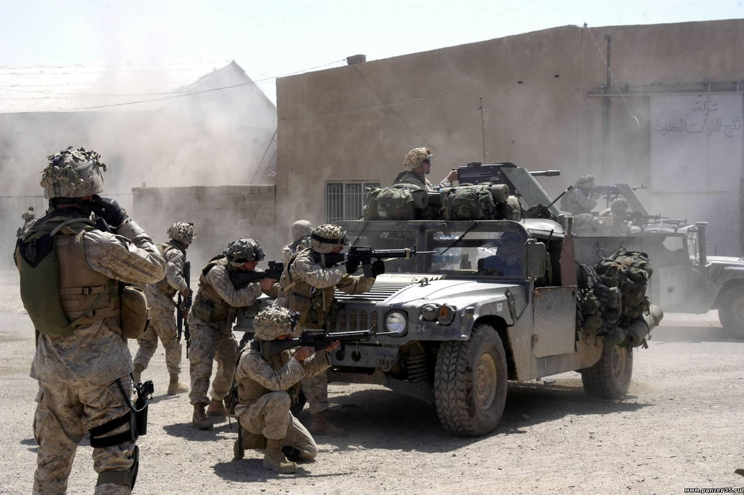 C:UsersWorkDesktopArmy BasesMarineCamp Baharia Marine Corps Base in Fallujah, Iraq1-5_Marines_in_Fallujah_07_April_204.jpg