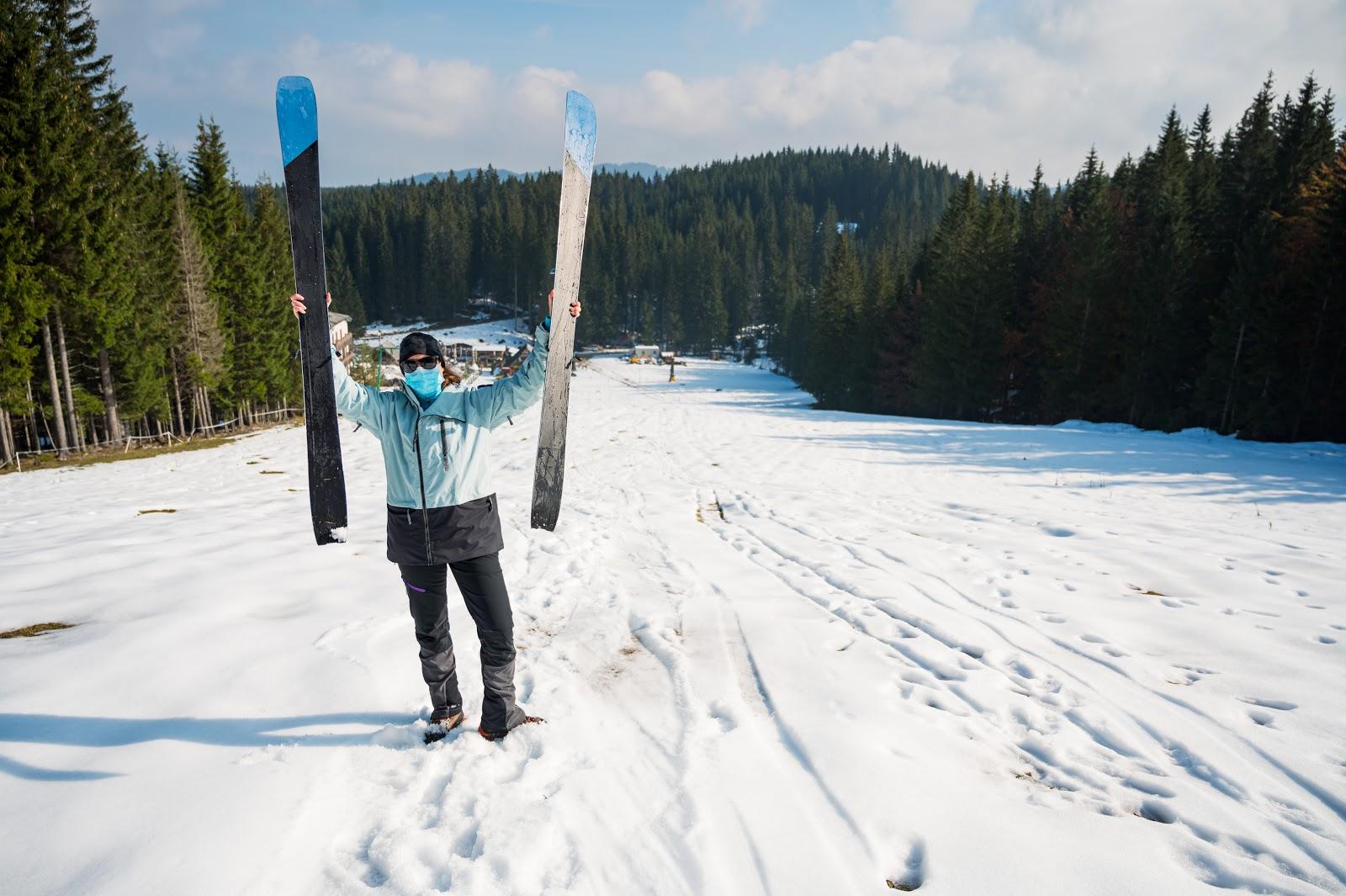 Esquí amb mascareta