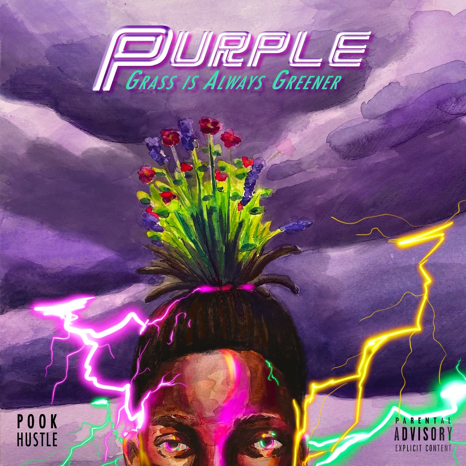 Pook Hustle to release 'Purple: Grass Is Always Greener'  Out Now!