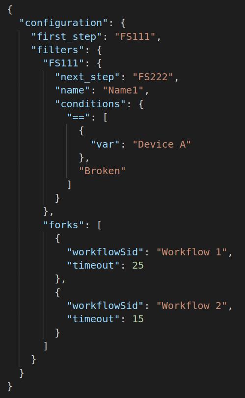 workflow coding details
