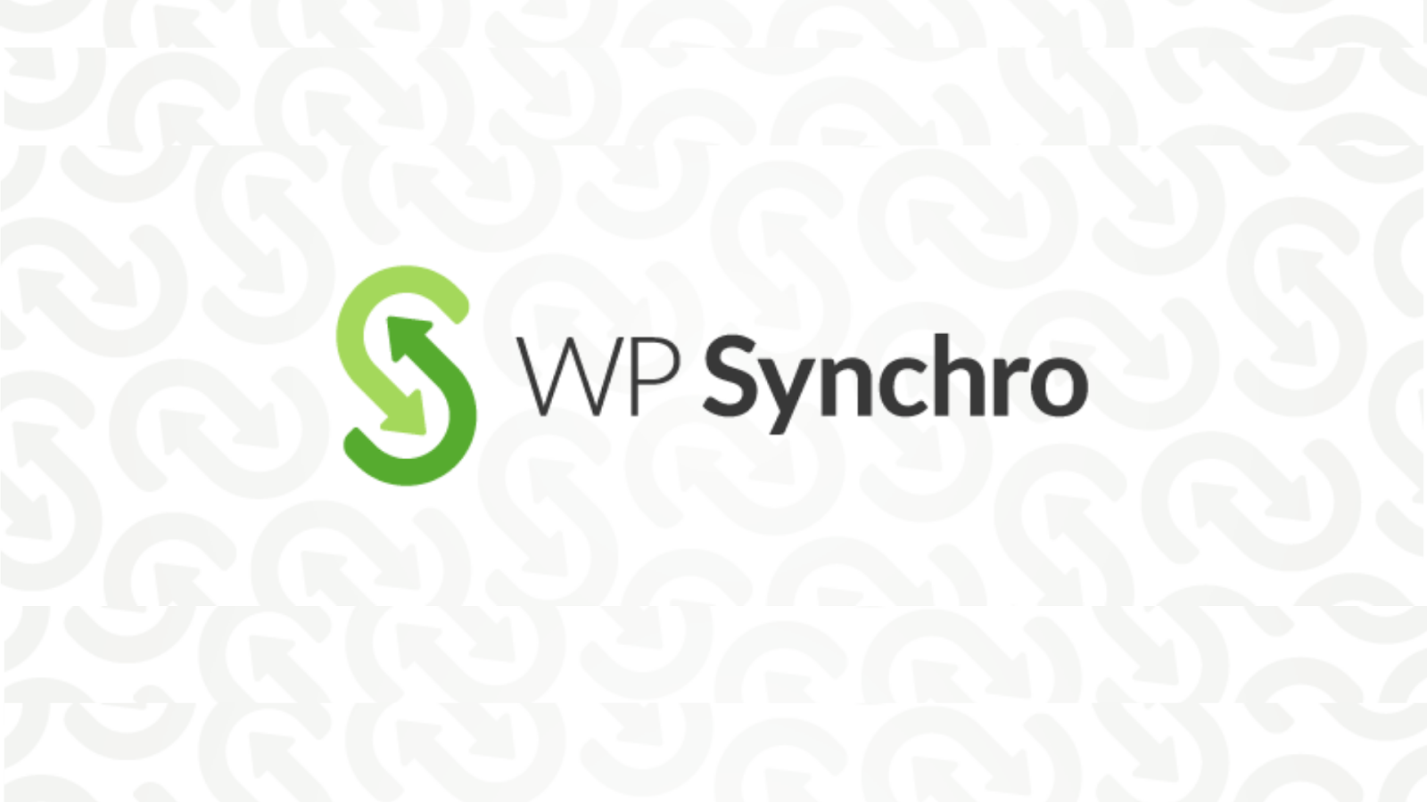 WP Synchro - wordpress migration plugins