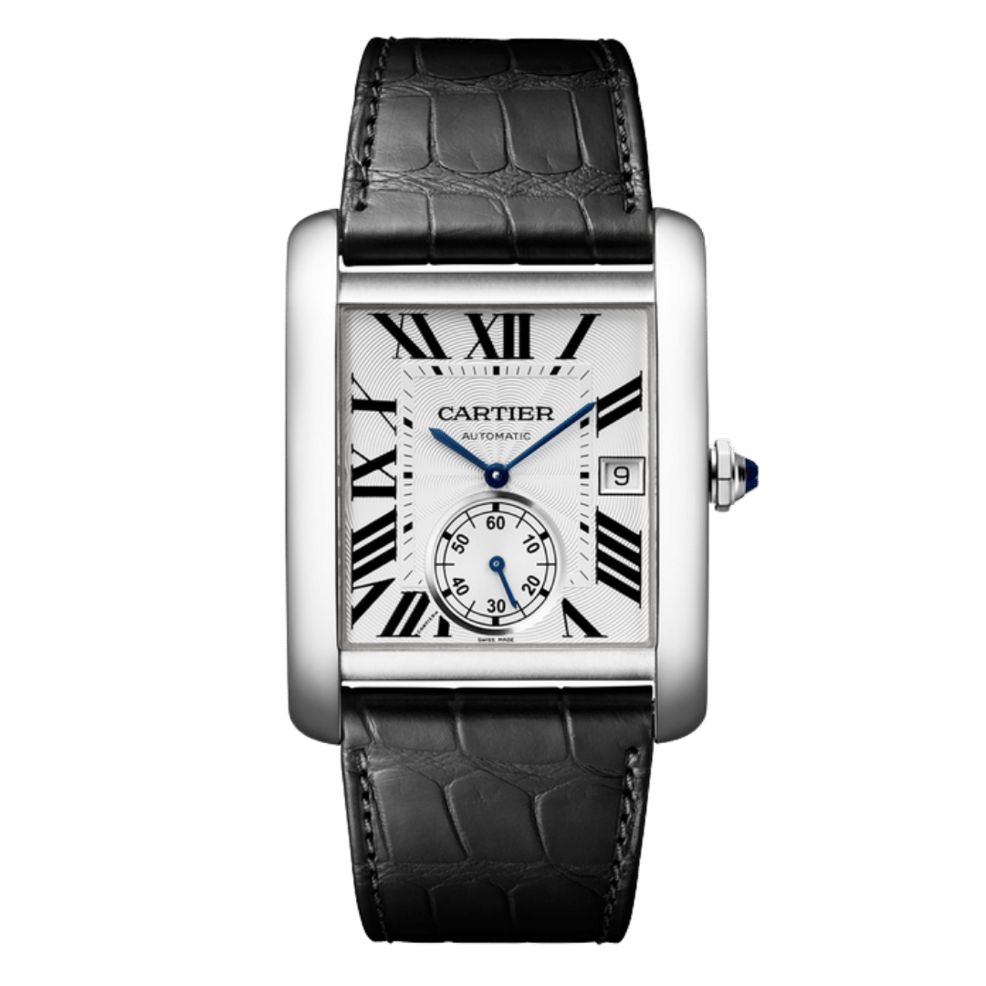 Photo of a Cartier Tank MC watch