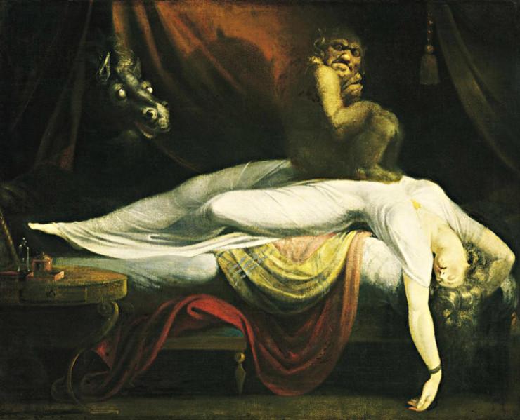 The Nightmare, 1781, by John Henry Fuseli