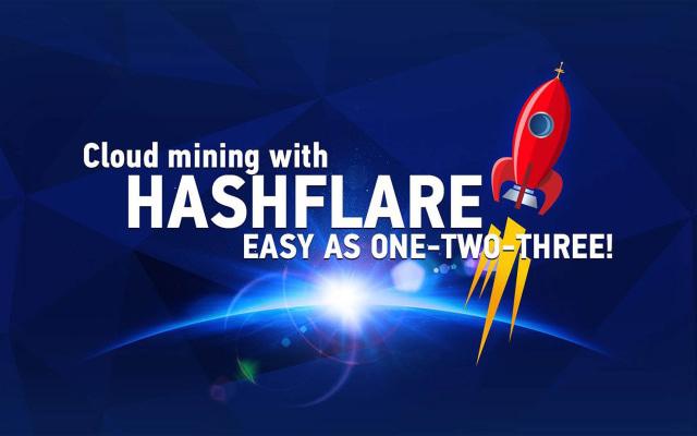 Sistem penambangan berbasis cloud dari Hashflare
