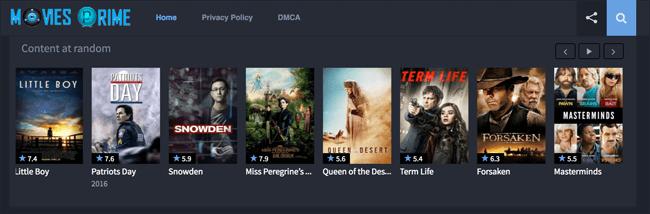 تماشای رایگان فیلم و سریال های هالییود با Movies Prime
