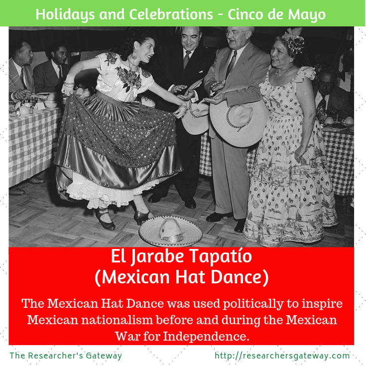Jarabe dancers at Cinco de Mayo celebrations in Los Angeles, 1952. Mexican Hat Dance