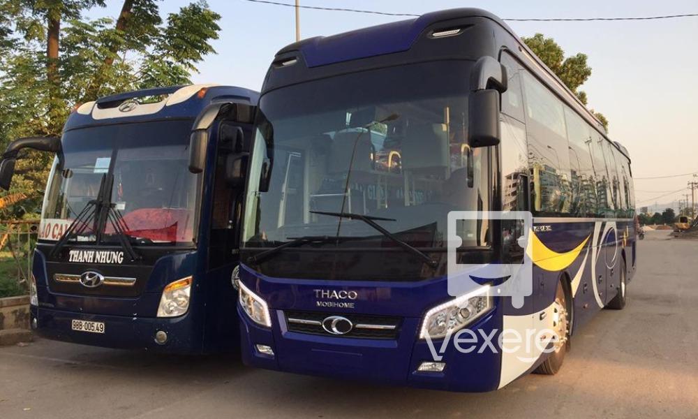Xe Thanh Nhung từ Hà Nội đi Sapa