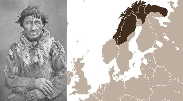 Sami people were the first people to ski