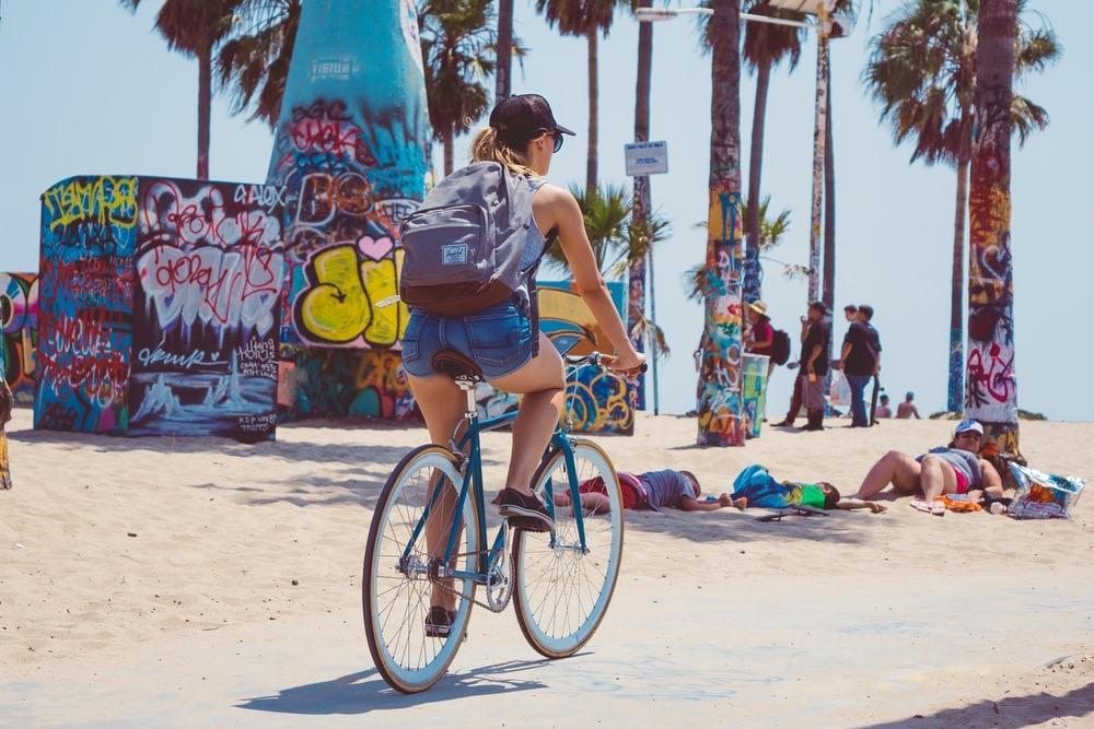 cycle around sentosa