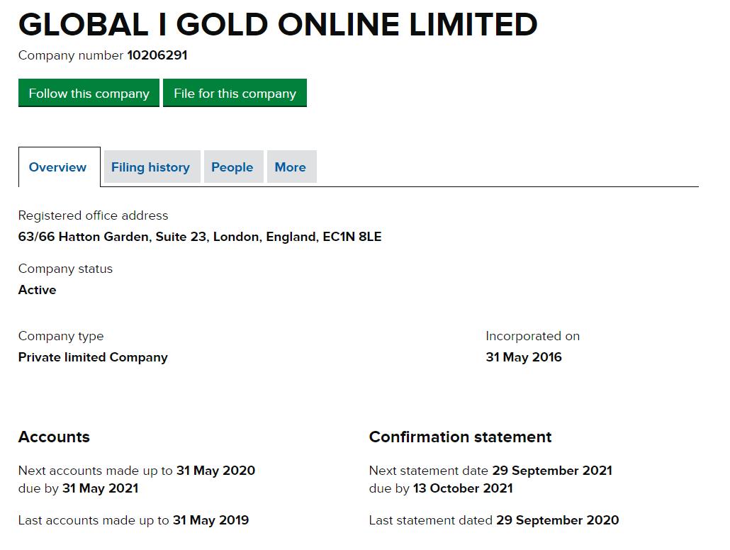 Инвестиционный проект Global InterGold: обзор условий и отзывы вкладчиков