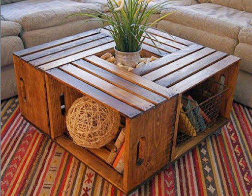 Model Desain Furniture Unik Dari Palet Kayu Bekas Jpg