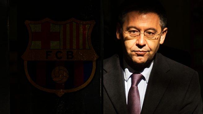 Josep Maria Bartomeu, actual presidente del Fútbol Club Barcelona, a la espera de la resolución de la moción de censura.
