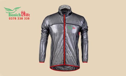 Áo mưa in logo thương hiệu