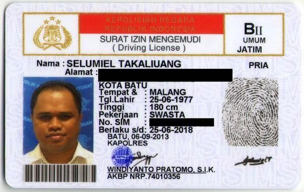 SIM B2 Umum