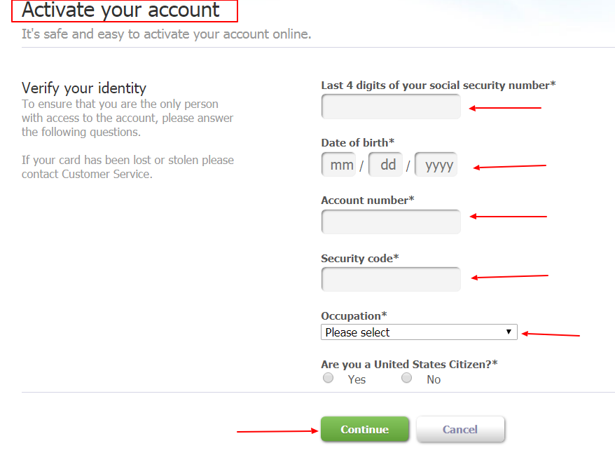 Barclay Card Activation |Activate Account Simple Way 2