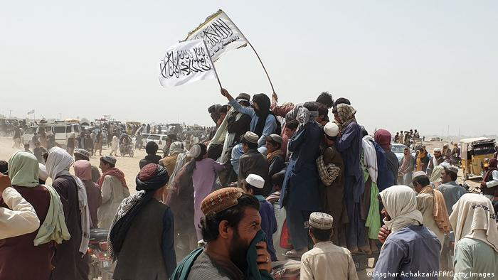 Taliban capture key Afghan border point — reports   News   DW   14.07.2021