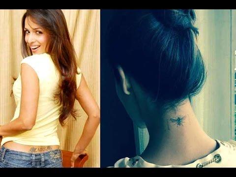 Bollywood Celebrities, Bollywood, Bollywood Tattoos, Tattoos Of Bollywood Celebrities, Astonishing Tattoos, Ranbir Kapoor, Alia Bhatt, Deepika Padukone, Arjun Kapoor, Priyanka Chopra, Malaika Arora, Sushmita Sen, Shilpa Shetty, Sonakshi Sinha, Kangana Ran