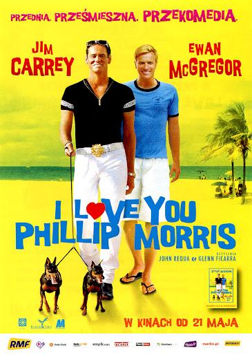 Przód ulotki filmu 'I Love You Phillip Morris'