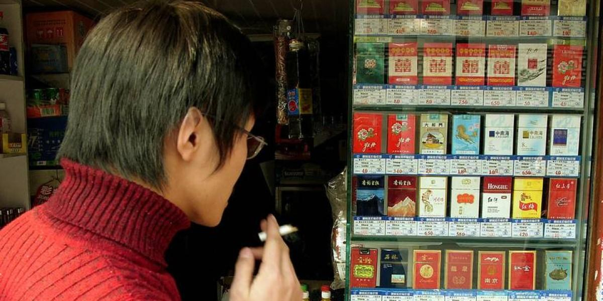 China's Government is Hooked on Cigarettes - NOLASIA