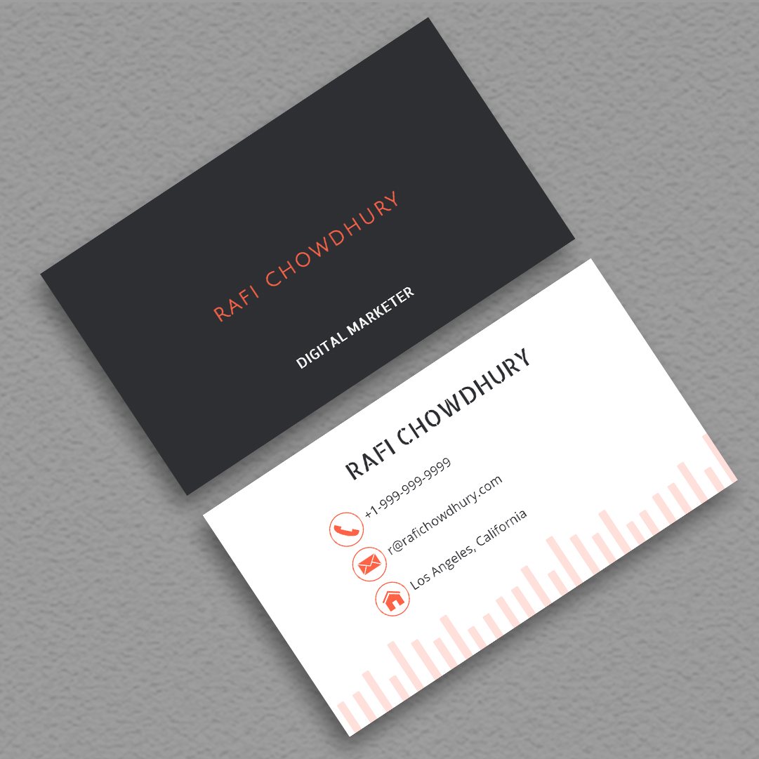 How to MakeBizCards - Unique and elegant business card within minutes