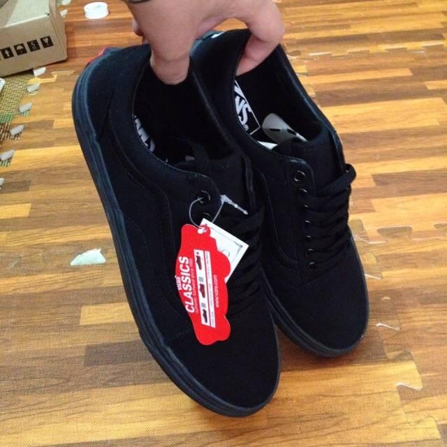 00dc6e38e2 Giày Vans Old Skool All Black - sự lựa chọn hoàn hảo