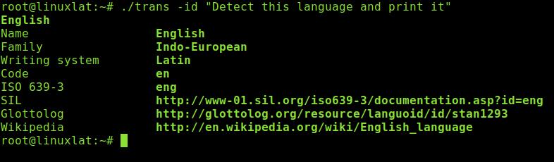 Traducir paginas web desde terminal