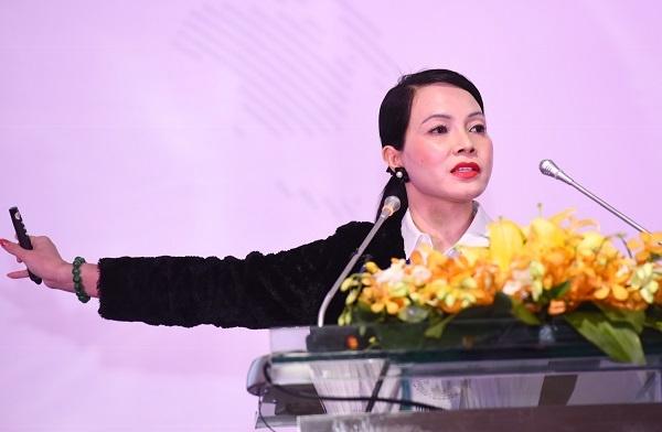 Bà Bùi Kim Thùy đưa ra tầm quan trọng của quy tắc xuất xứ.