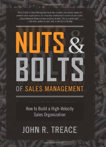 Nuts and Bolts of Sales Management book