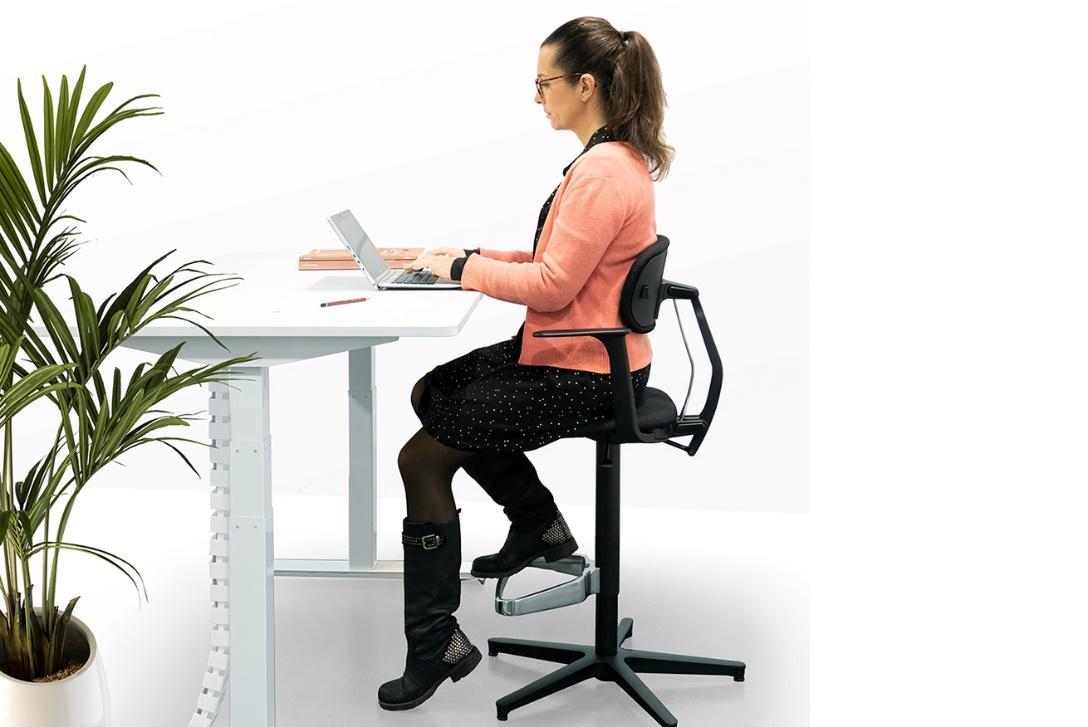 fauteuil de bureau assis-debout