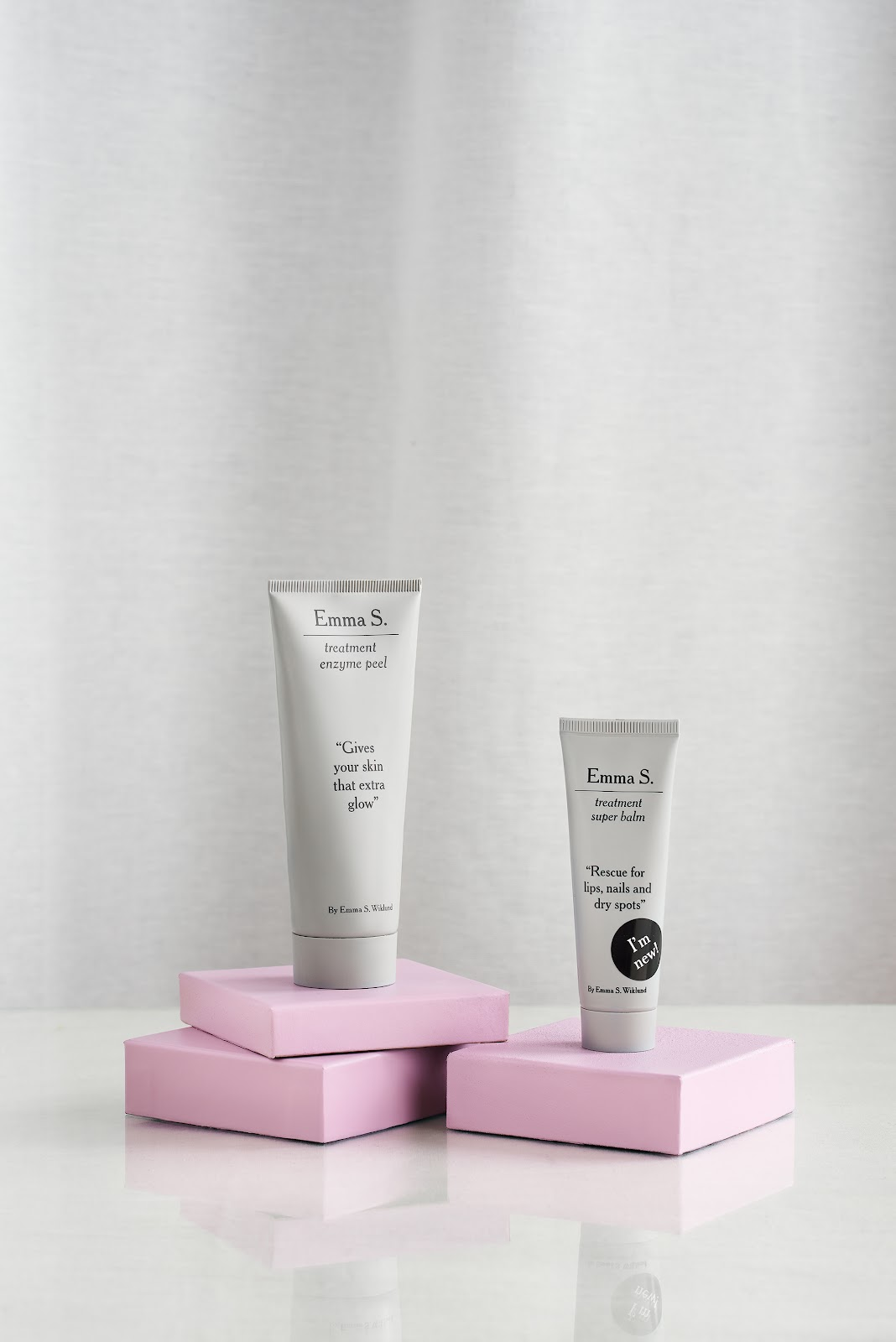 Emma S. treatment enzyme peel och treatment super balm