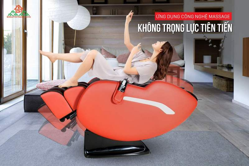 Ghế massage - Thư giãn tại nhà thoải mái và tiện lợ - Ảnh 4