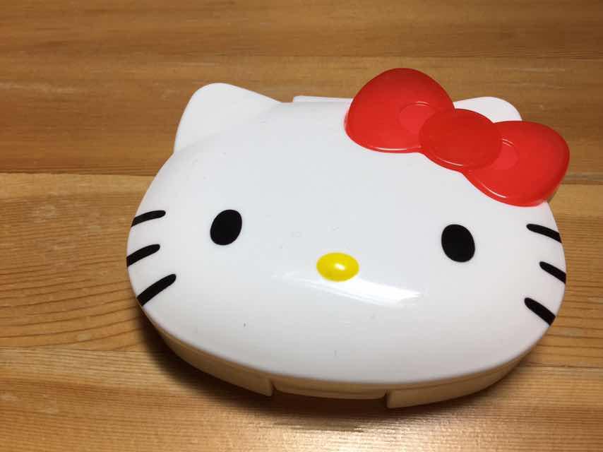 キティちゃんのマウスピースケース