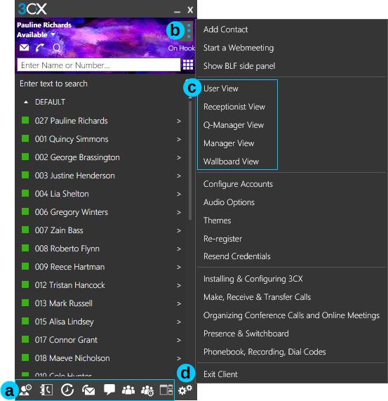 3CX App für Windows - alle Kontakte und Anrufe im Blick