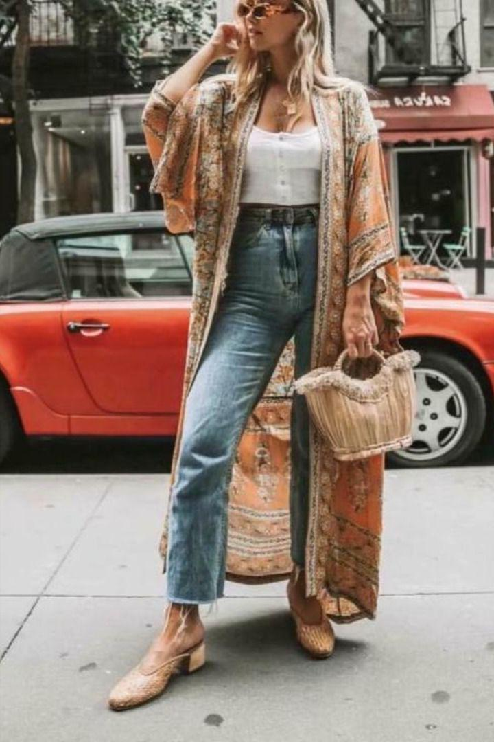 How To Wear Kimonos: An Easy Street Style Guide For Ladies 2021