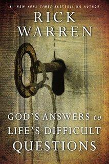 Book thumbnail for God's Answers to Life's Difficult Questions (Living with Purpose) by Rick Warren