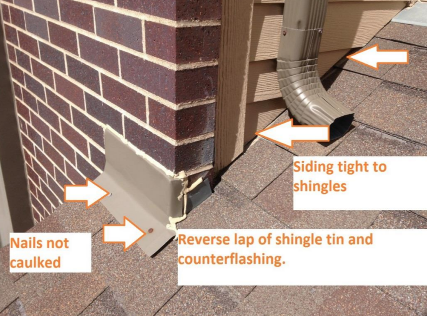 common examples of construction defect