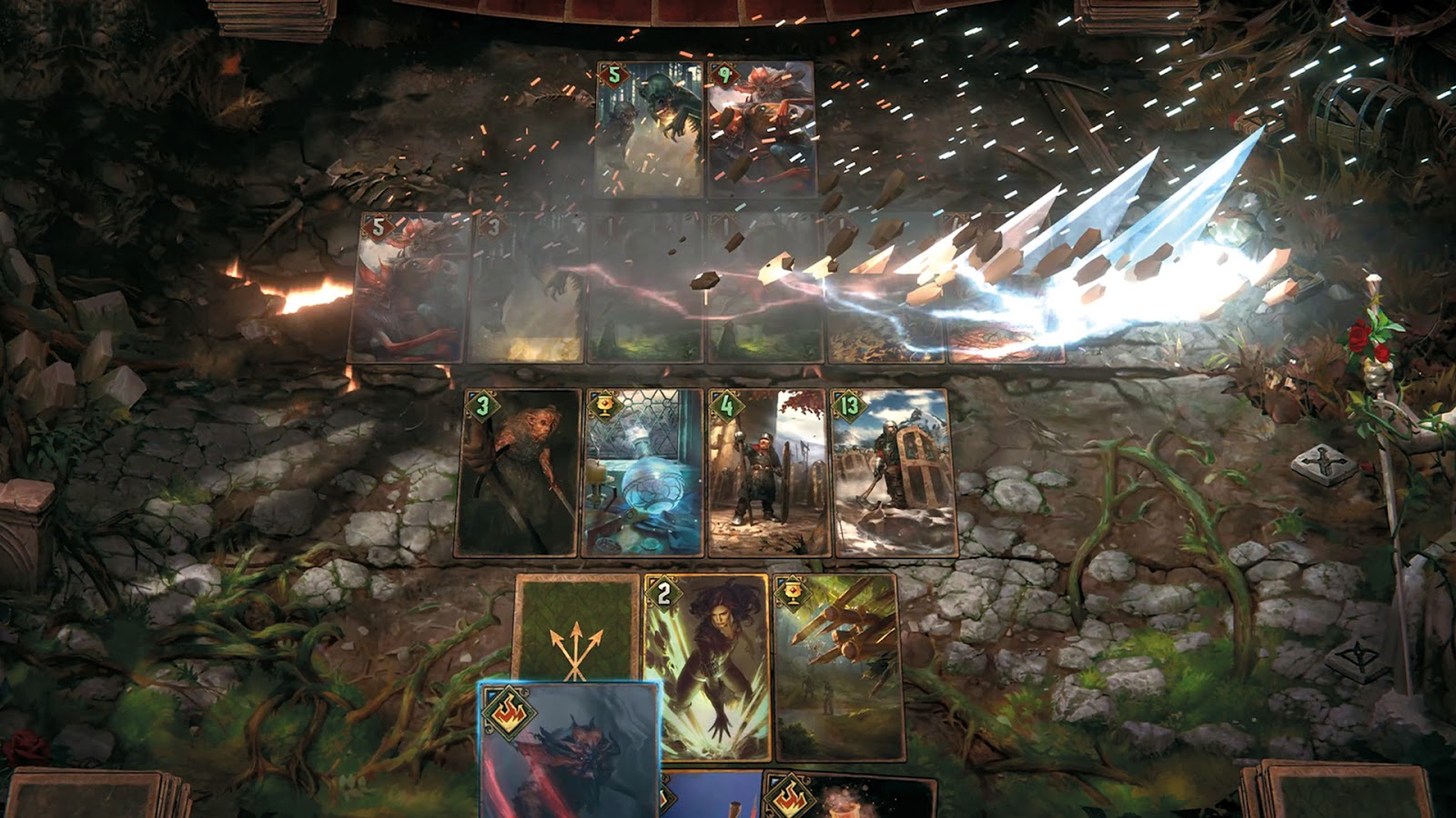 [Review] Gwent : The Witcher Card Game เกมการ์ดจากซีรีส์ The Witcher 13