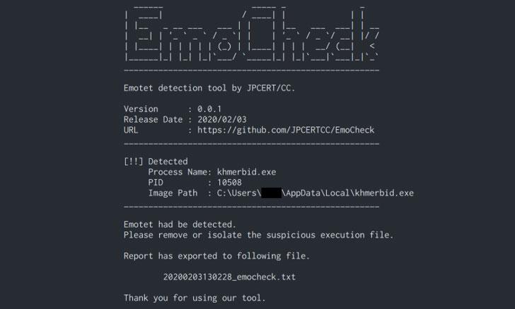 Emotet malware