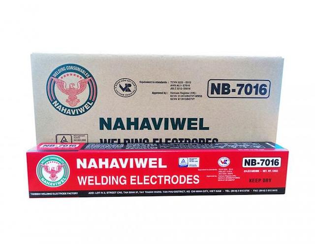 Nahaviwel cung cấp sản phẩm vật liệu hàn chất lượng tốt nhất