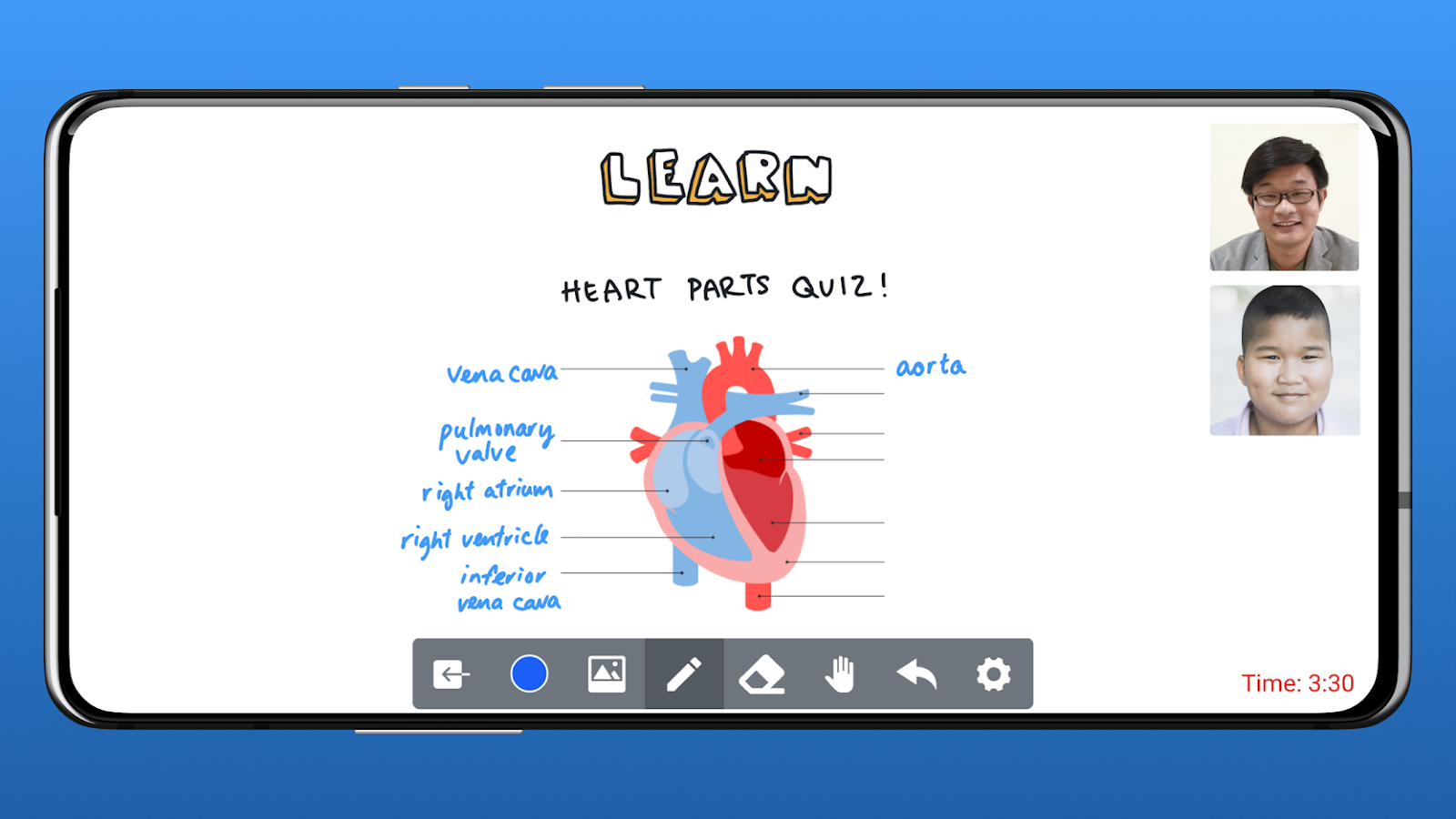 Increase effectiveness of online teaching: Interactive learning activities on HeyHi's online whiteboard